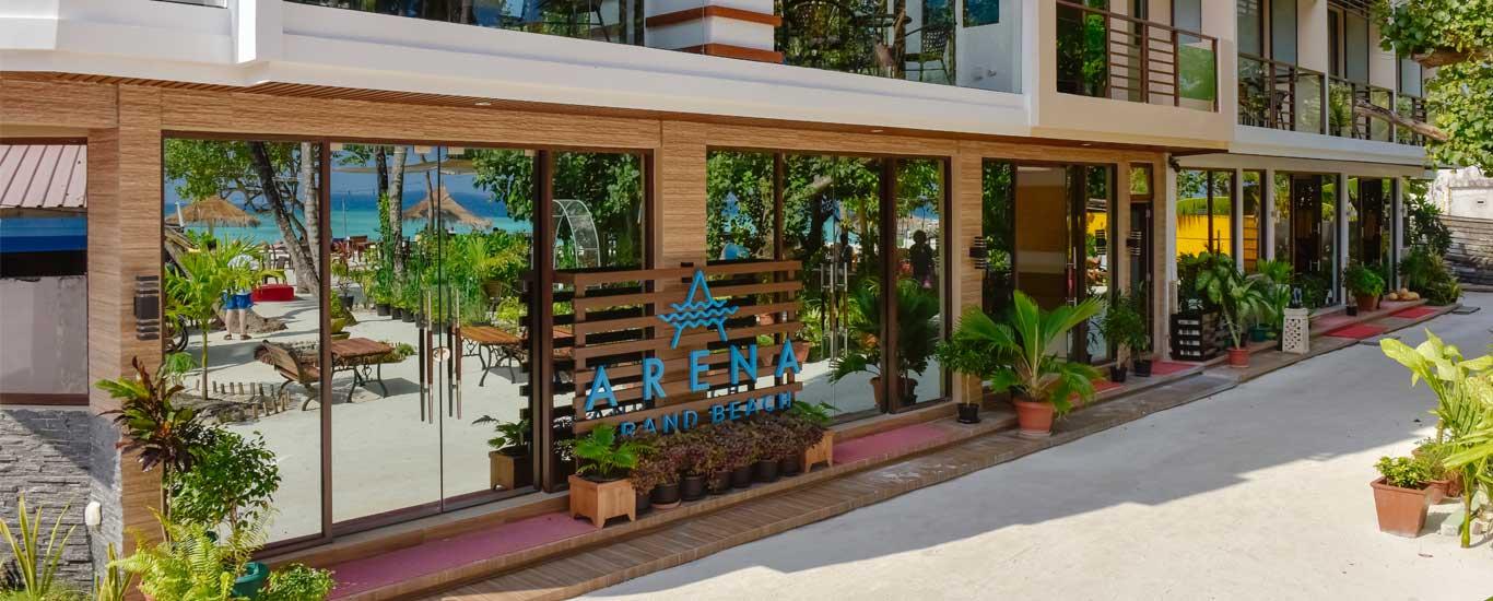 Arena Beach Hotel maafushi island hotels