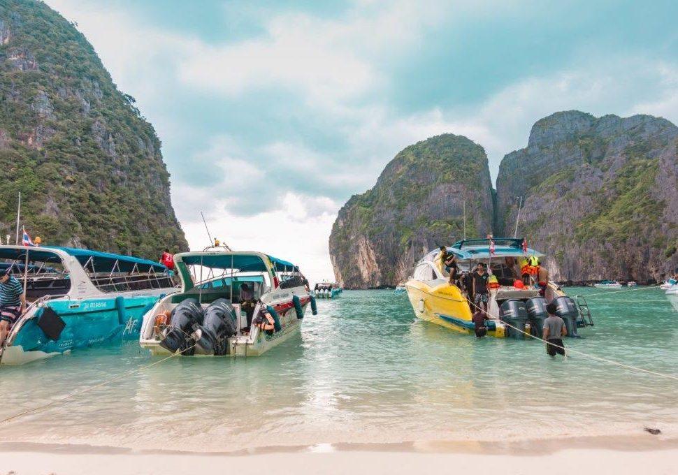 maya bay day trip, maya beach tour, phi phi leh