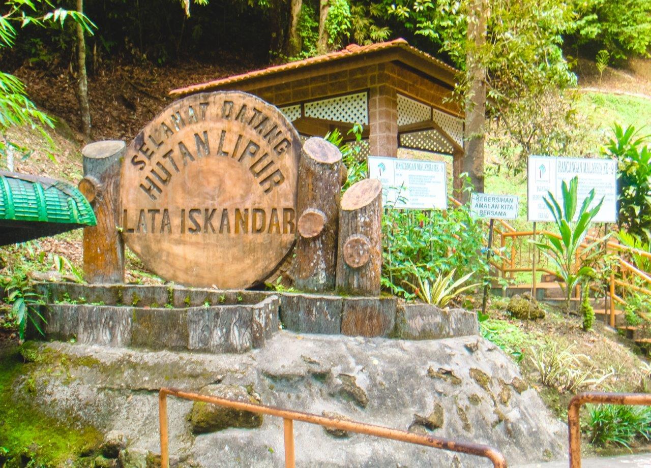 cameron highland waterfall tanah rata