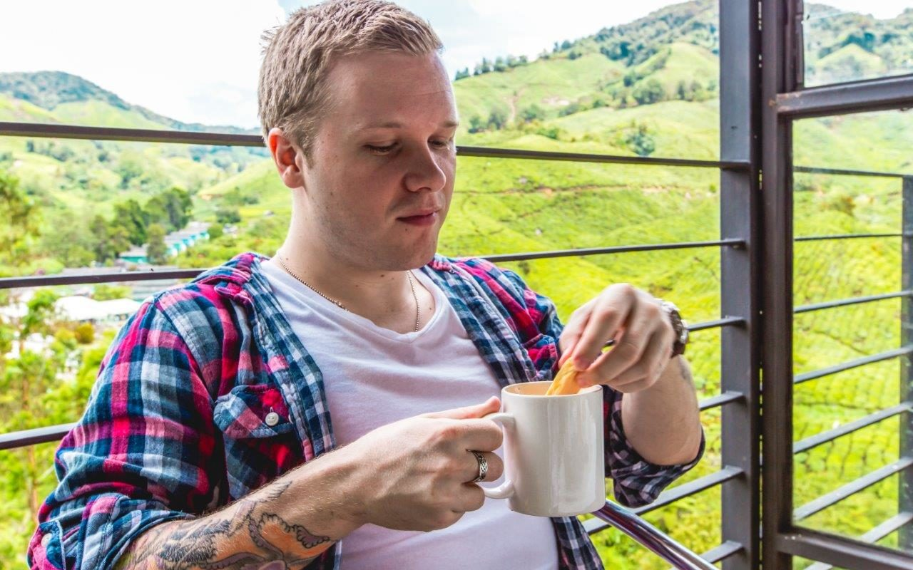 boh tea plantation cameron highland cafe visit cameron highlands