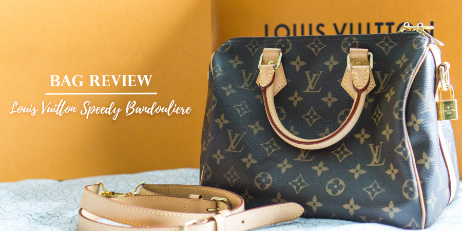 LOUIS VUITTON SPEEDY BANDOULIERE 25 REVIEW