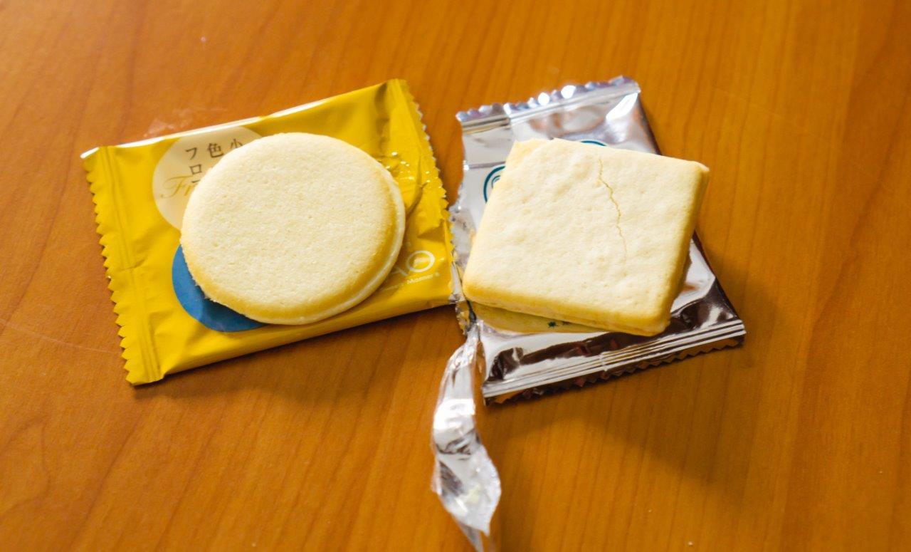 LeTAO Otaru Rue Ironai Fromage Cookies, Tokyo Milk Cheese Factory cookies