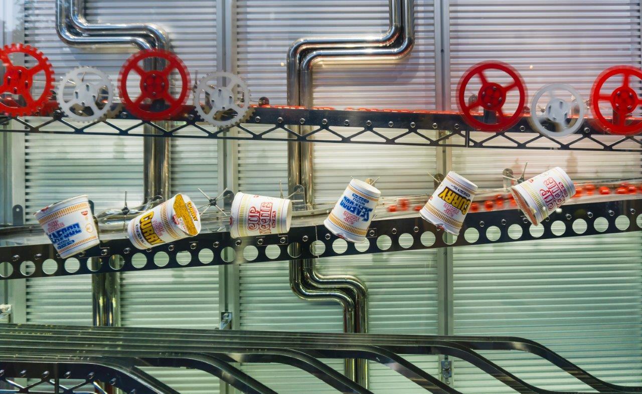 Yokohama cup noodle museum, nissin noodles