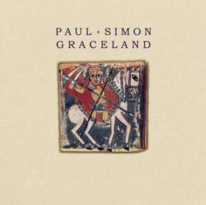 Front cover of Paul Simon's GRACELAND album.