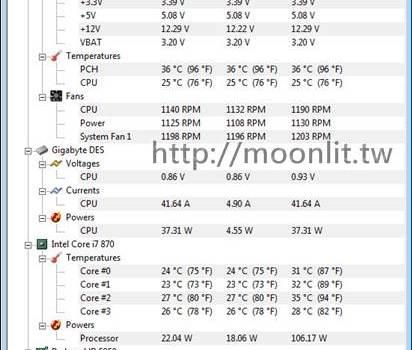 cpu溫度偵測軟體 HWMonitor 免安裝下載