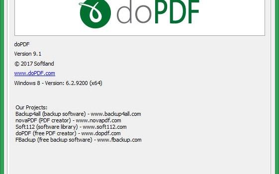 轉PDF檔軟體 doPDF用印表機輸出PDF