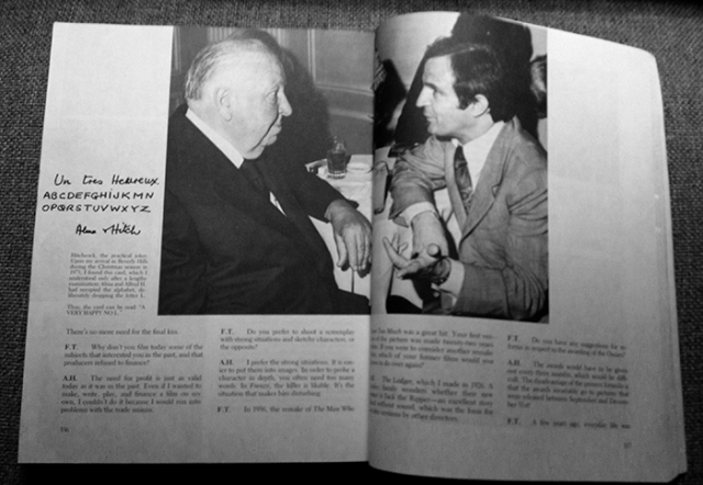 Hitchcock and Truffaut