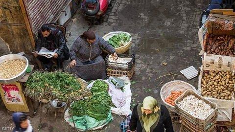 تراجع معدل التضخم السنوي في المدن المصرية