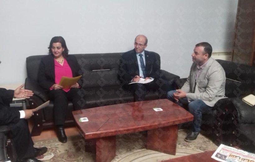 د.منى محرز نائب وزير الزراعه :- إقامة مهرجان سنوى  للعسل المصرى ليكون احتفالا للنحالين