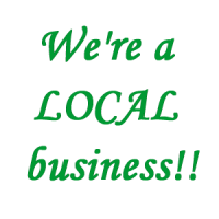 Let people know you are a local business.