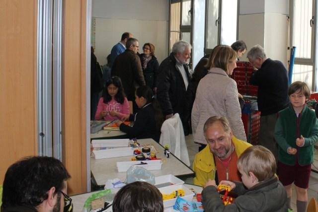 El «Meccano» vuelve a unir a padres e hijos en El Yelmo