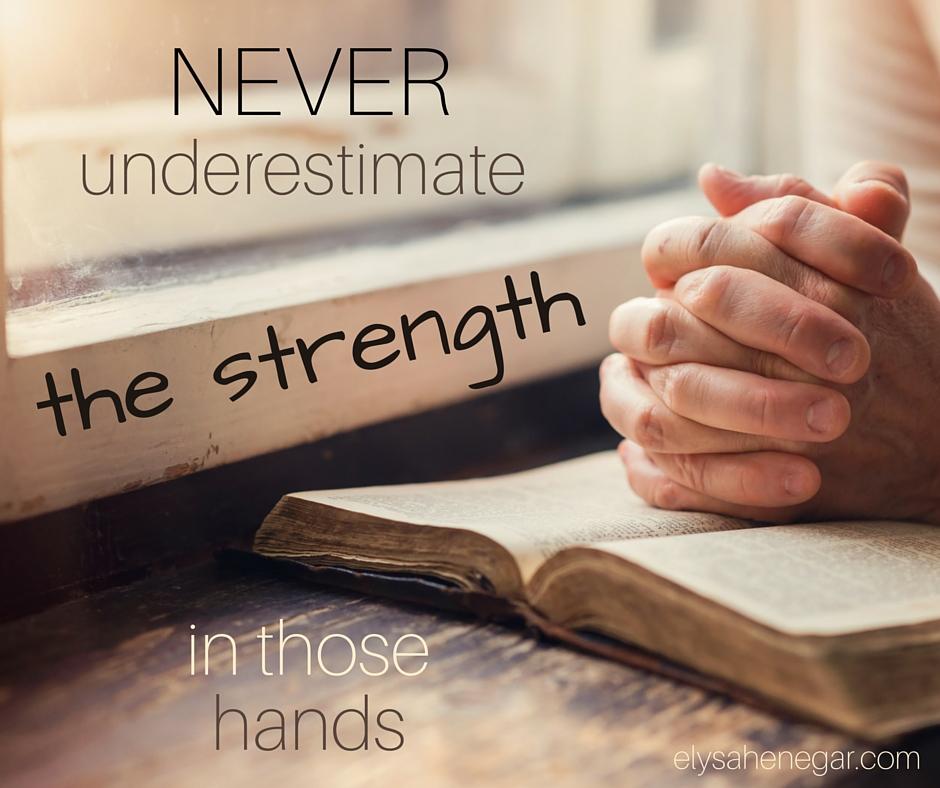 pray with him