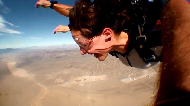 Sky Diving-- Las Vegas, 2011