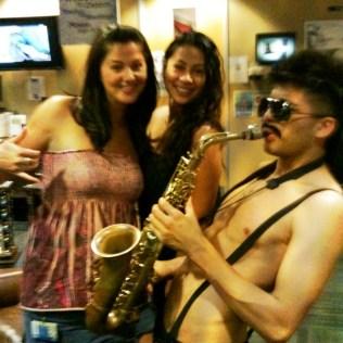 Sexy Sax Man. That happened!