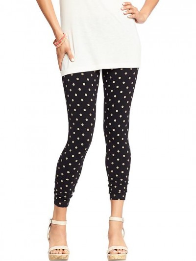 Polka Dot Leggings at Old Navy, $11.97 (on sale!)