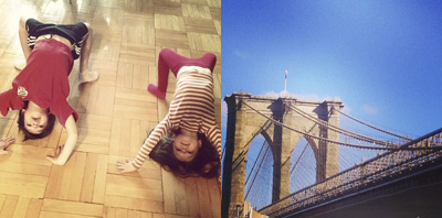 Adorable Thing My Kids Did + Amazing View Of Brooklyn Bridge