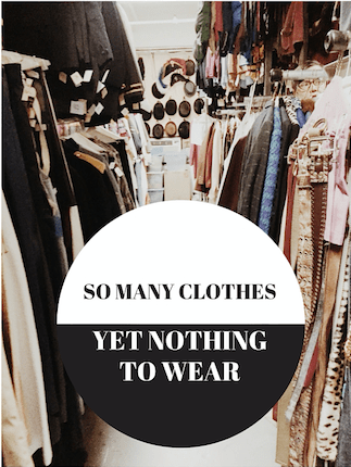 For those days when you look in your closet, and see nothing to wear, these stylist tips will help you easily find something. Click through for the tips!