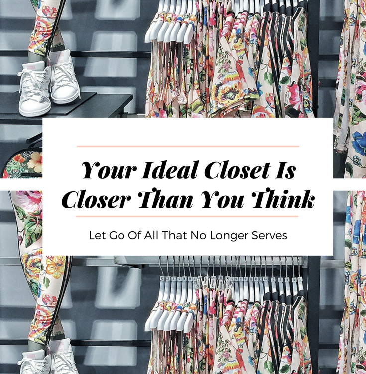 The benefits of a closet clear out include creating more space in your mind body and life along with an overall sense of lightness in your being.