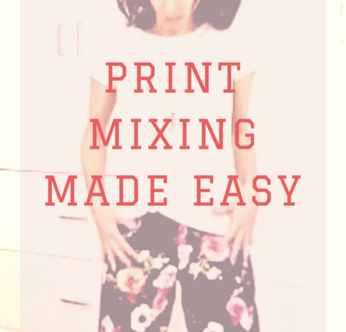 Do you love the idea of print mixing in your outfit? But you're too intimidated to try because you don't have the confidence to know what looks good together. If this is you, click through to read because I am sharing my top stylist strategies on how to mix prints in your look.