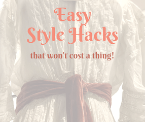 It's that weird time of year when we are in between seasons which makes getting dressed a bit confusing, and having some style hacks for extra inspiration can be a major help when pushing through those last days of inconsistent weather.