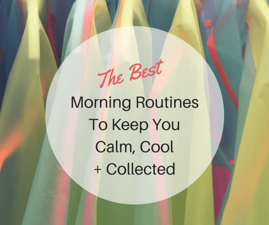 The best morning routine starts with intention. It's about giving yourself time to fully connect with your day so you have less stress and more ease.