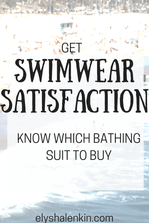 Knowing the different body types plays a major role in finding the right bathing suit. Here are some swimwear styles to consider that will flatter you best.