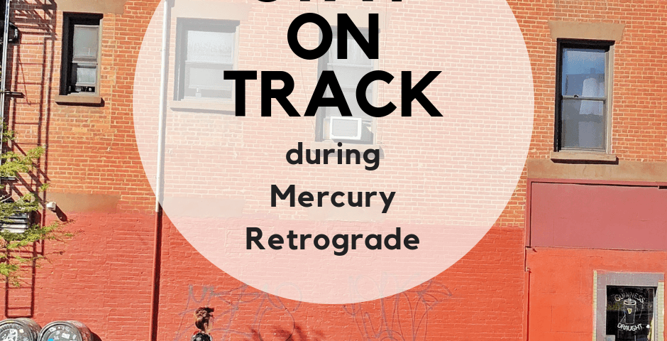 No need to freak out because mercury is going retrograde. Here's how to navigate the period of mercury retrograde with less frustration.
