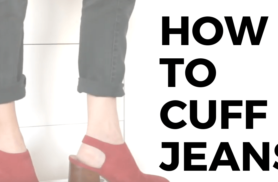 When you want your outfit to feel like spring, but it's cold outside, these style tips share how to cuff jeans and other style hacks that get your outfit spring ready.