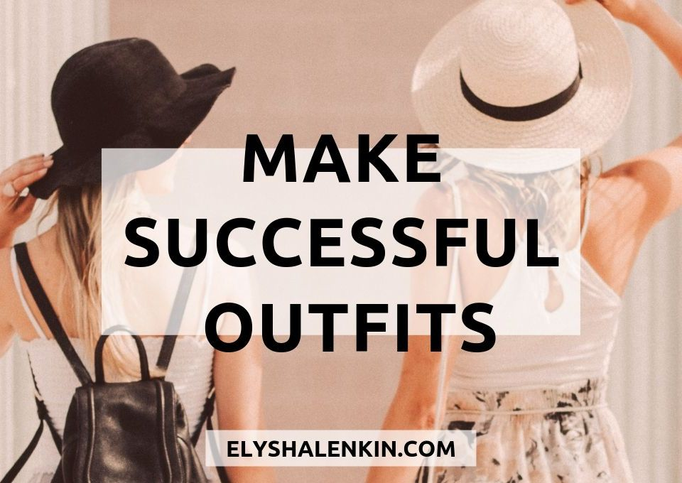 Make successful outfits. Two women wearing hats and carrying a backpack in casual clothing.