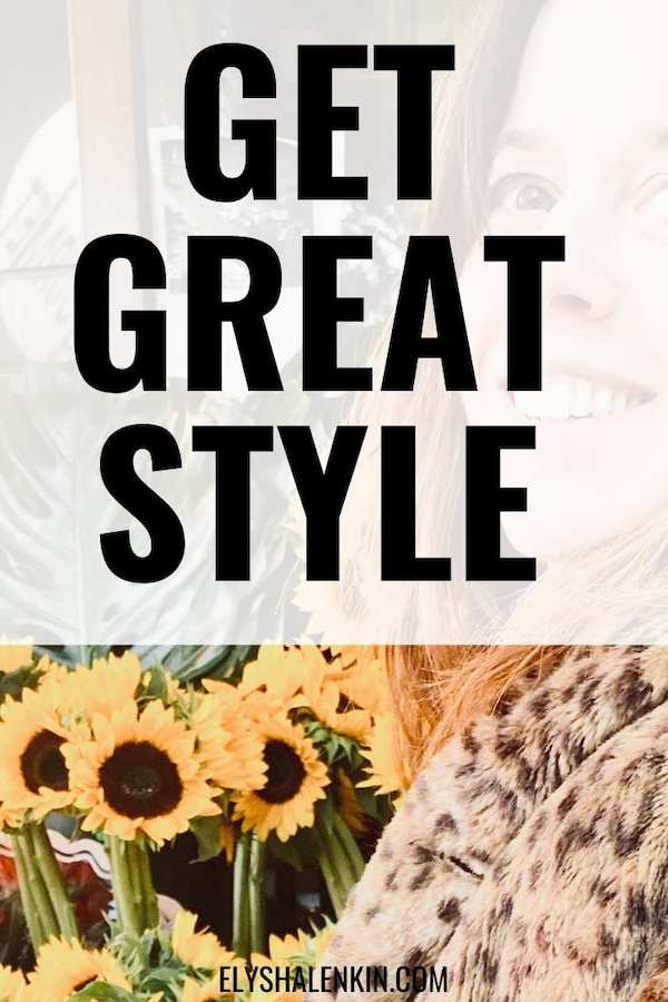 Get great style text overlay of image with a woman.
