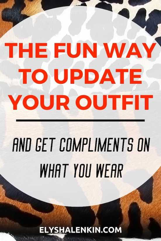 The fun way to update your outfit and get compliments on what you wear graphic overlay image of mixed animal prints