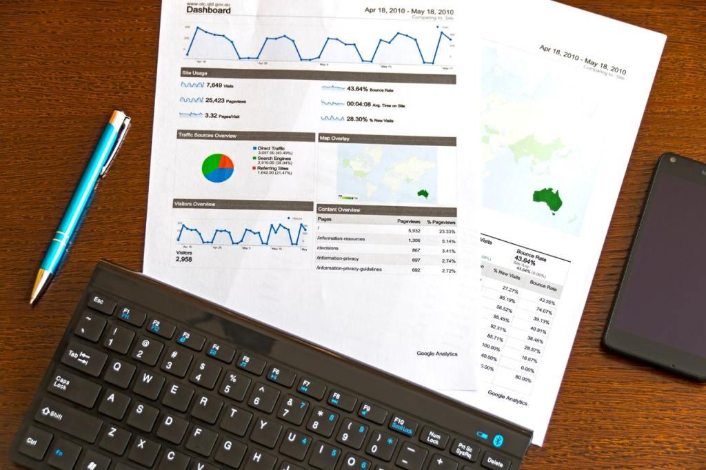 Keyboard and charts