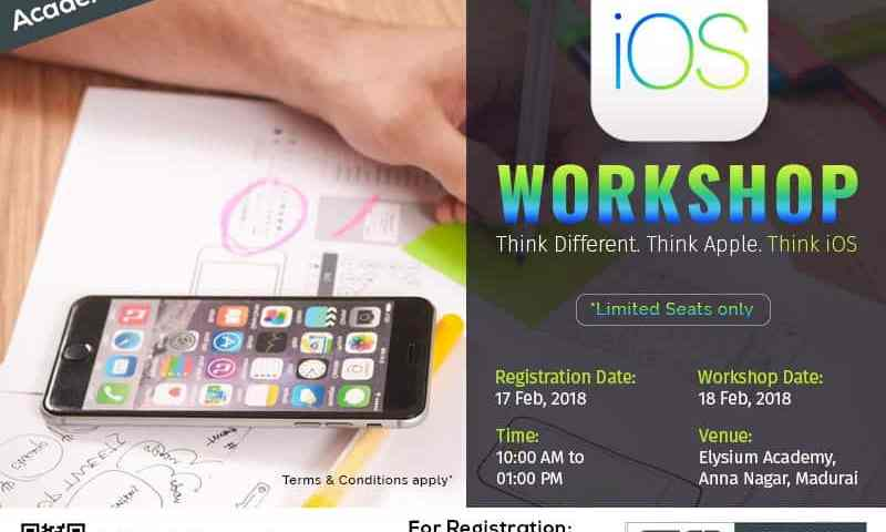 ios workshop for students