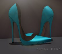 Astrid - scuba blue