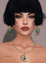 Oriental delight - emerald