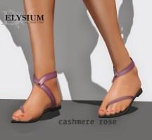 Liloe sandal - casmere rose