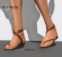 Liloe sandal - cognac