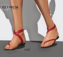 Liloe sandal - red