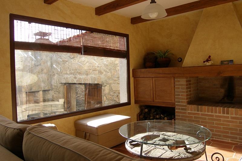 El salón, una estancia cómoda y acogedora