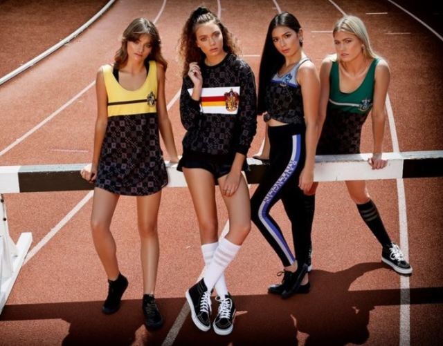 harry potter colección moda deportiva elzocco
