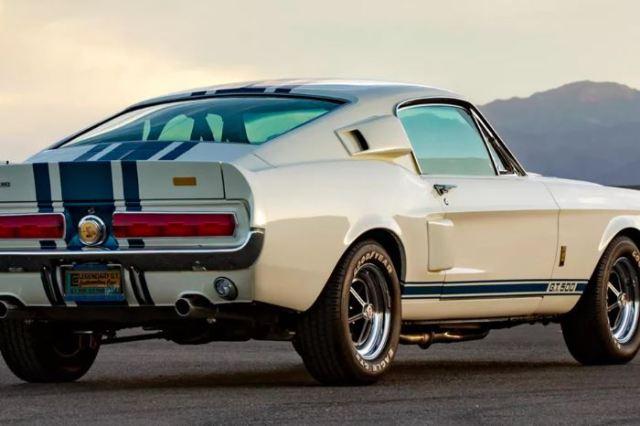Vuelve el Ford Shelby GT500 Super Snake del 67
