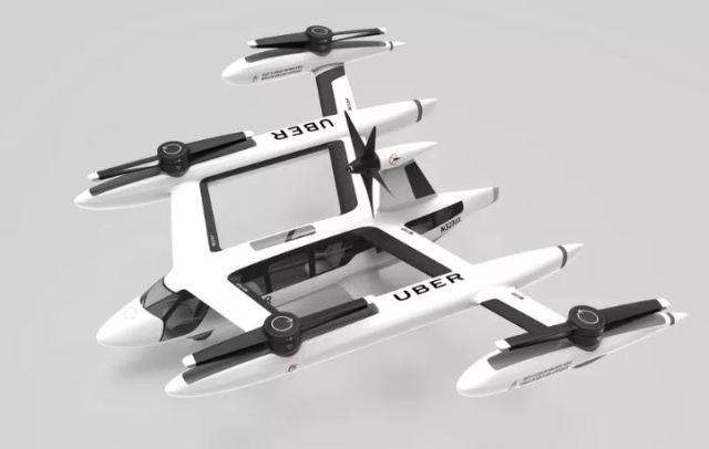 Uber revela su último prototipo de taxi volador