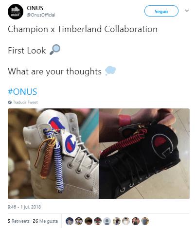 Champion x Timberland