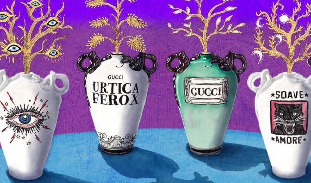 La colección de interiores Gucci Decor 2018 que realiza un homenaje a la artesanía italiana