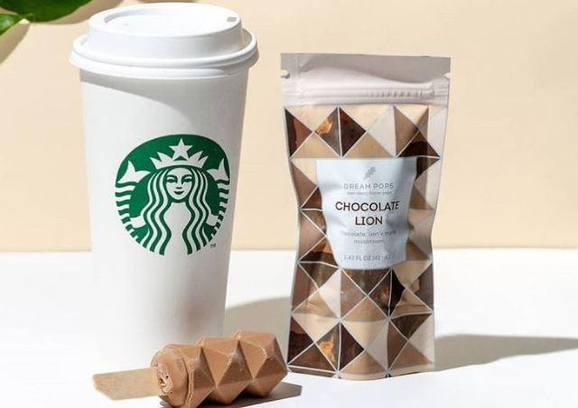 Starbucks Los Ángeles vende helados veganos en 3D