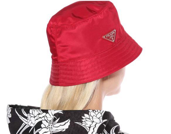 sombrero pescador Prada