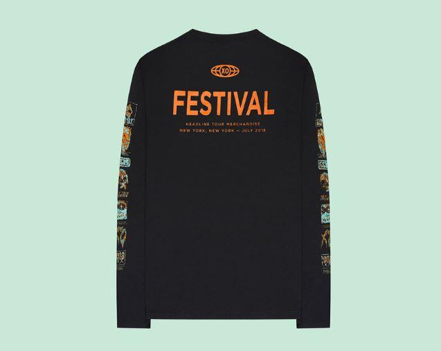 The Weeknd lanza su gama para el Panorama Festival Collection