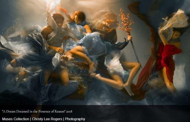 fotografía subacuática artístic