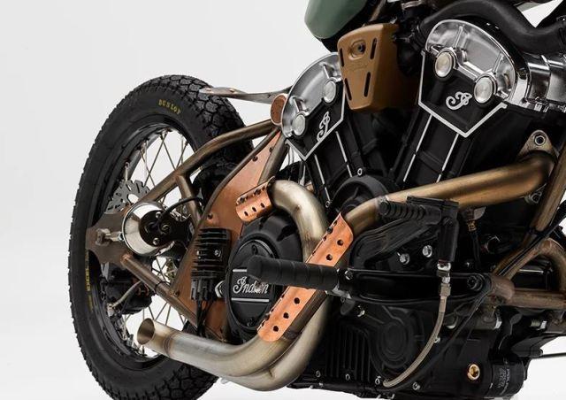 Un ingeniero de la NASA gana un concurso de motocicletas india con una moto de 100 cv