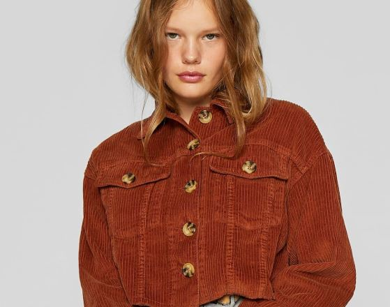 chaquetas de pana para mujer
